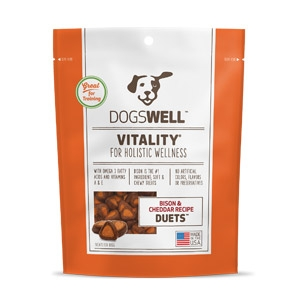 Vitality® Duets Bison & Cheddar Recipe Dog Treats 16oz