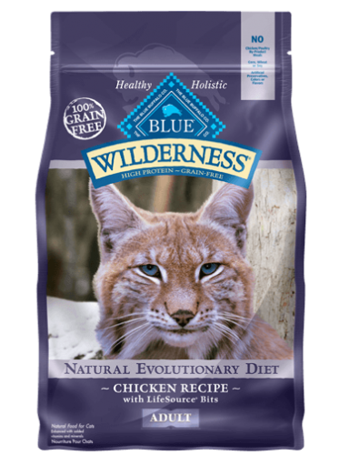 Blue Wilderness® Chicken Recipe Cat Food