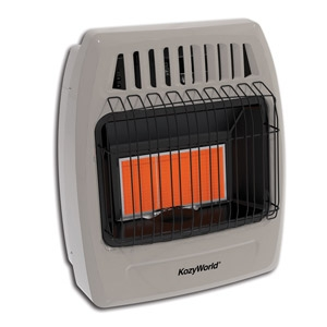 KozyWorld® Natural Gas Infrared Space Heater