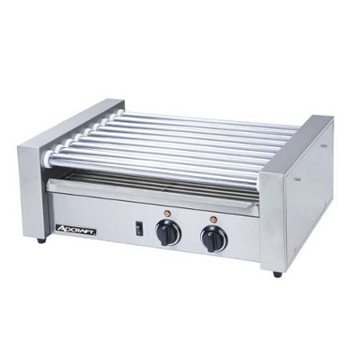 AdCraft 9 Roller Hot Dog Roller Grill