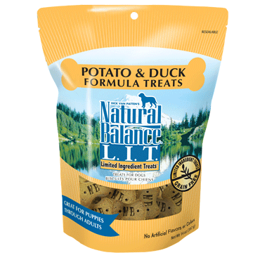 Natural Balance Limited Ingredient Diets Duck & Potato Treats 28 oz.
