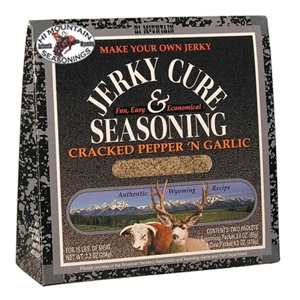 Hi Mountain® Cracked Pepper 'N Garlic Jerky Cure & Meat Seasoning