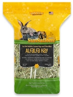 Sunseed SunSations Natural Alfalfa Hay for Pet Rabbits, Guinea Pigs & Chinchillas