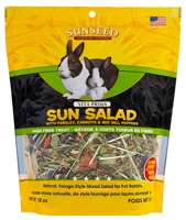 Sunseed Vita Prima Rabbit Sun Salad Parsley, Carrots & Red Bell Peppers