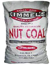 Kimmel's Anthracite Nut Coal 50lb $6.99