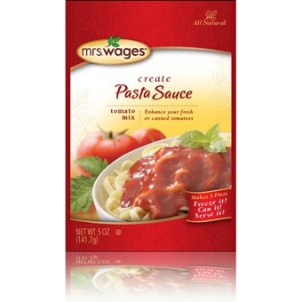 Mrs. Wages Pasta Sauce Tomato Mix 5 oz.
