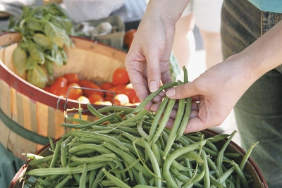 Locally Grown Green Beans