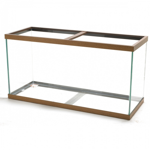 Aqueon® 90 Gallon Oak Trim Aquarium