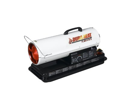 80K BTU Forced Air Kerosene Heater