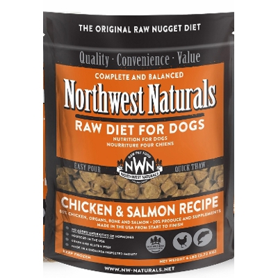 NW Naturals Raw Diet Chicken & Salmon Dog Food