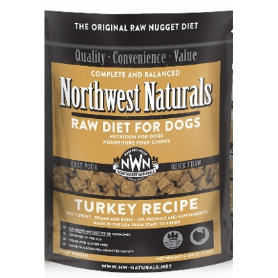 NW Naturals Raw Diet Turkey Dog Food