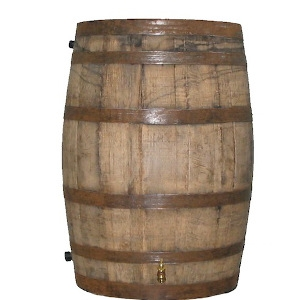 55 Gallon Whiskey Barrel