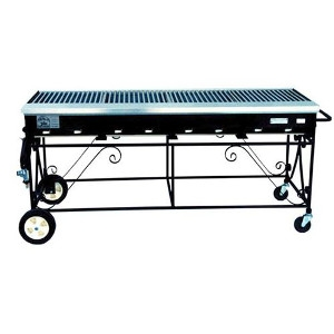 8 Burner Country Club gas Grill