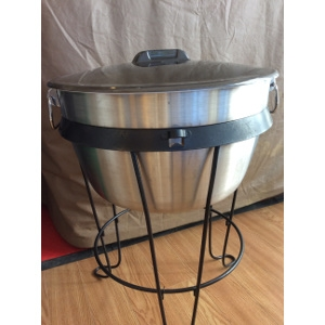 Stainless Steel Cooler & Party Stand