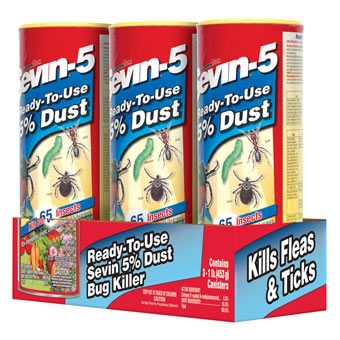 GardenTech Sevin-5 Ready-To-Use 5% Dust 3 PK 1#