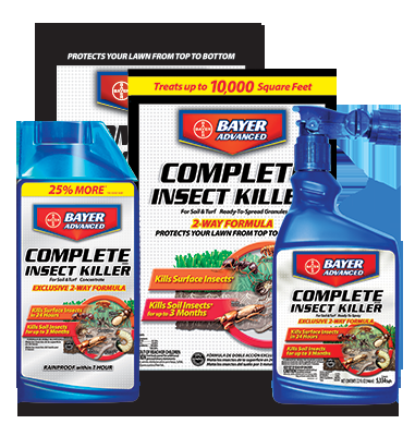 Bayer Advanced Complete Brand Insect Killer For Soil & Turf