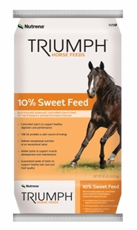 Nutrena Triumph® 10% Sweet Feed