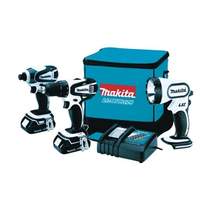 Makita® 18-Volt 3-Piece Lithium Ion Combo Kit