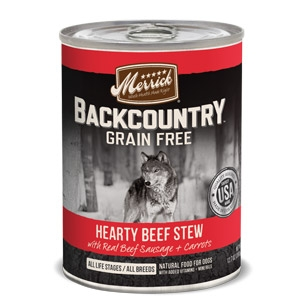 Backcountry™ Grain Free Hearty Beef Stew Wet Dog Food  12.7 oz.