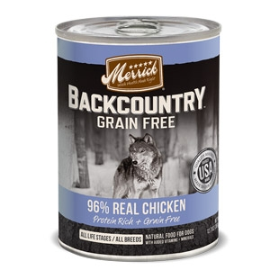 Backcountry™ Grain Free 96% Real Chicken Wet Dog Food 12.7 oz.