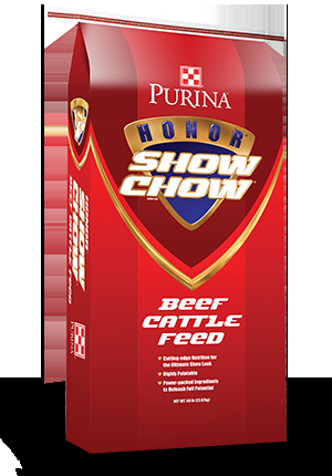 Honor® Show Chow® Grand 4-T-Fyer™ High Performance Beef Supplement