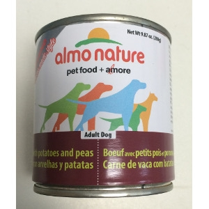 Almo Nature Beef, Potatoes and Peas Adult Dog Food
