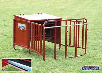 Calf Creep Feeder with Control Band 650#