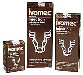 Ivomec 1% Injection for Cattle and Swine 50ML