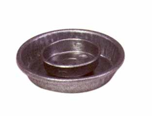 QT Jar Galvanized Waterer Base