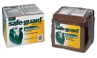 Safe-Guard Dewormer Block 25#