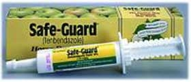 Safe-Guard Paste for Cattle & Horse 92GM