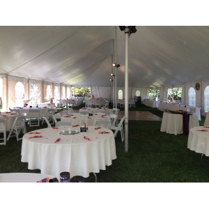 Tent, 30' x 70' Pole - Professionally Installed