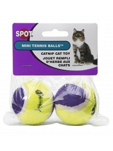 Spot Tennis Ball with Catnip