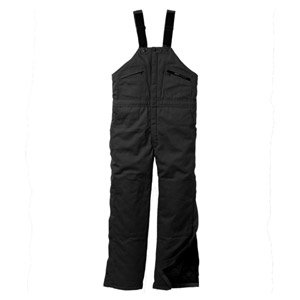 Key® Insulated Hip Zip Duck Bib Overall