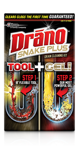 Drano® Snake Plus Drain Cleaning Kit