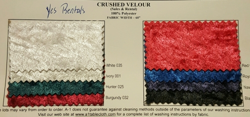 LINEN, CRUSHED VELOUR