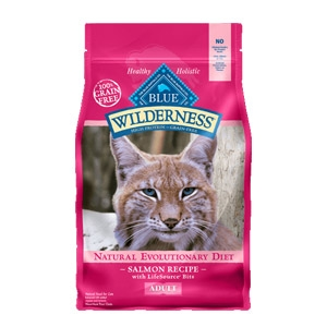 Blue Wilderness® Salmon Recipe for Adult Cats