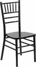 Hercules Chiavari Chair, Black Wood