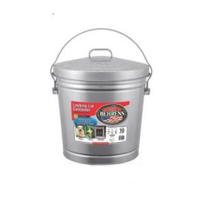 Behrens® 10 Gallon Galvanized Trash Can