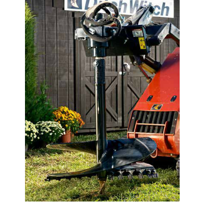 Mini Skid Steer Auger Attachment