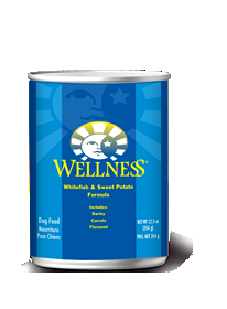 Wellness Whitefish & Sweet Potato Formula