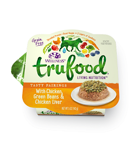 Wellness Trufood Tasty Pairings with Chicken, Green Beans & Chicken Liver