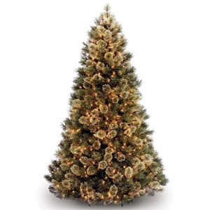 7.5' Cashmere Fir Christmas Tree