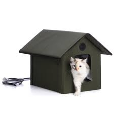 K & H Outdoor Heated Kitty House