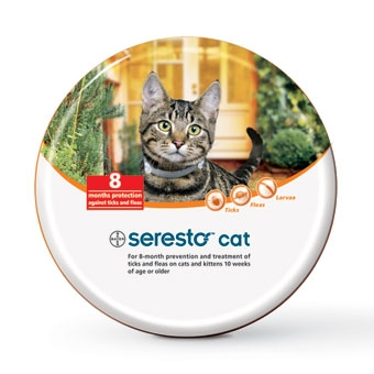 Seresto Flea & Tick Collar for Cats 10 Weeks or Older
