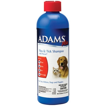 Adams Plus Flea & Tick Shampoo w/ Precor 12oz.