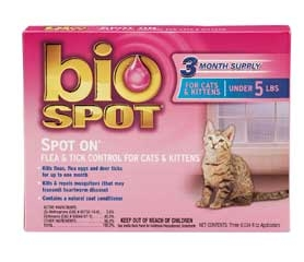 BioSpot Spot On for Cats
