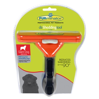 Furminator Long Hair Deshed Tool for XLarge Dogs