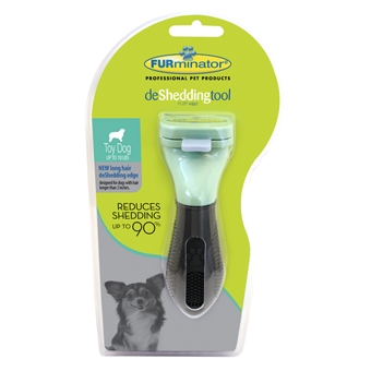 Furminator Long Hair Deshed Tool for Toy Dogs