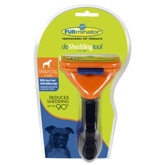 Furminator Short Hair Deshed Tool for Medium Dogs